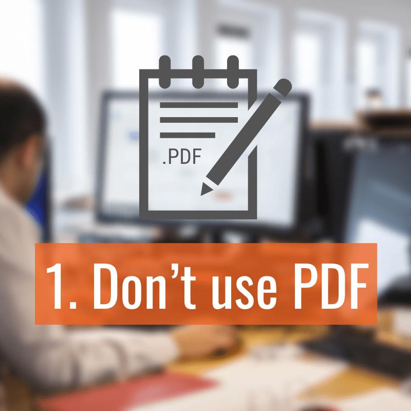 1 Dont Use Pdf