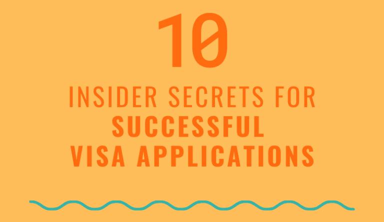 10 Insider Secrets Visa App
