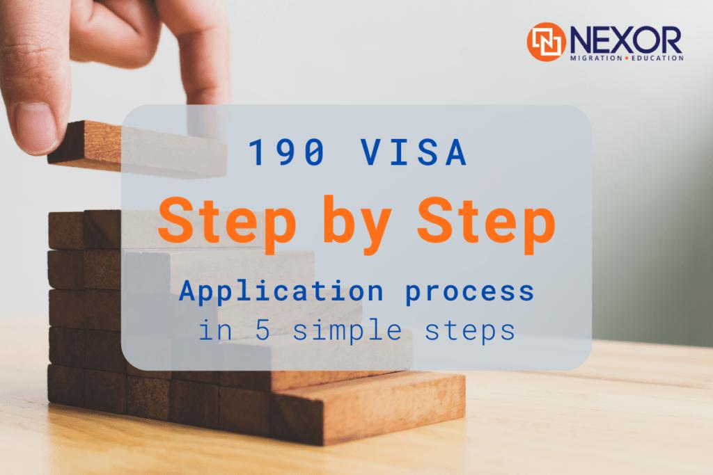 190 Visa Step By Step