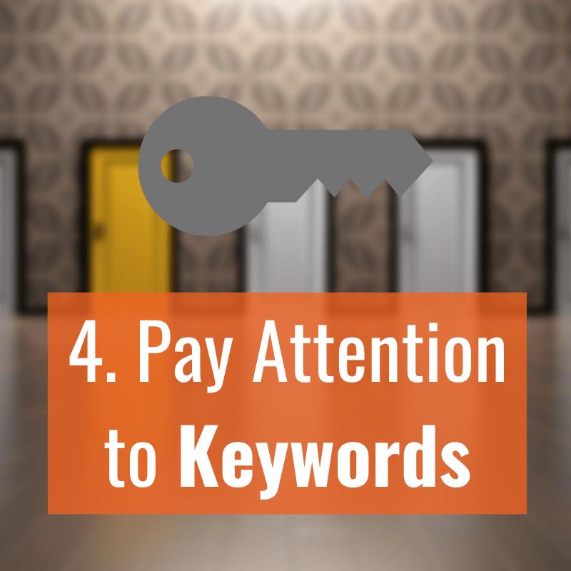 4 Keywords