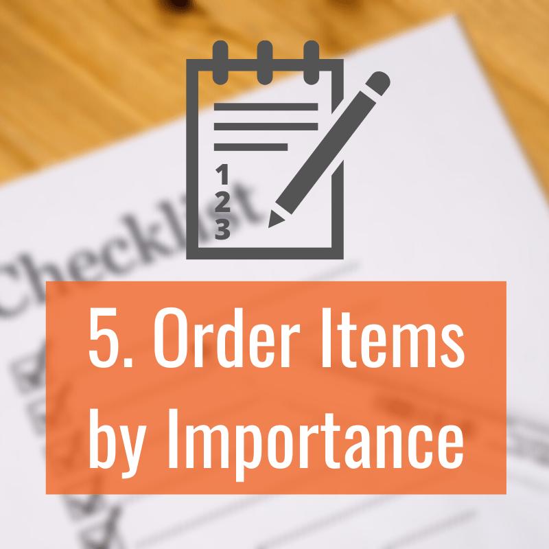 5 Order