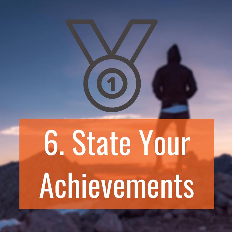 6 Achievements