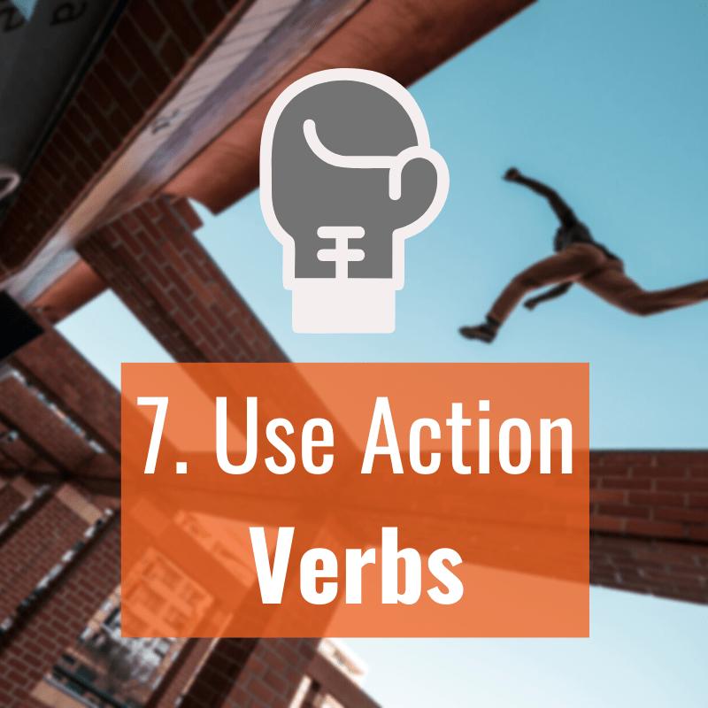 7 Action Verbs
