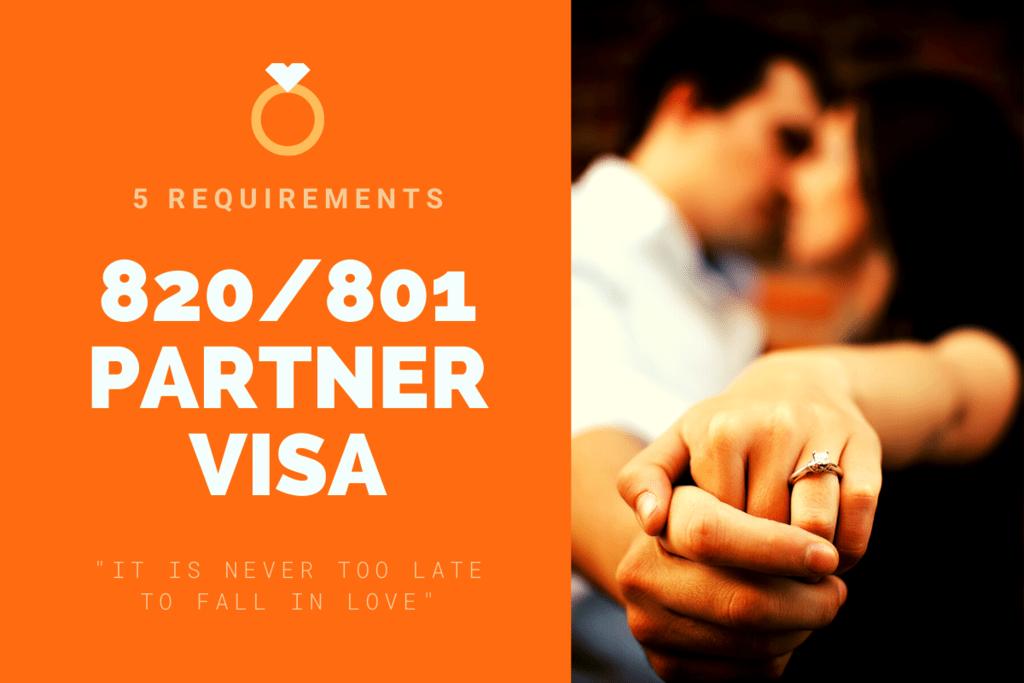 820 801 Partner Visa