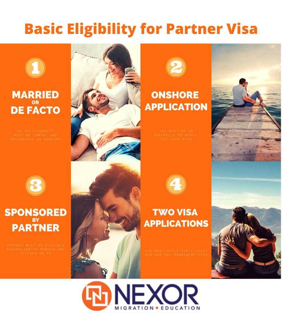 Basic Eligibility For Partner Visa