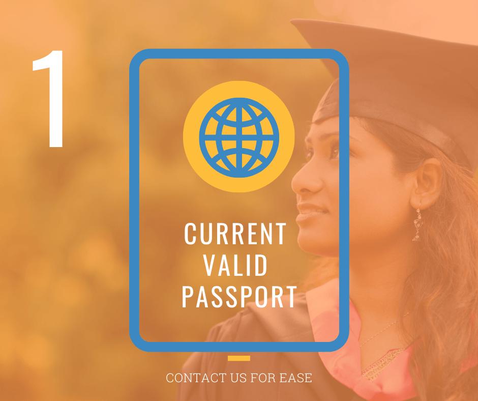 Current Valid Passport