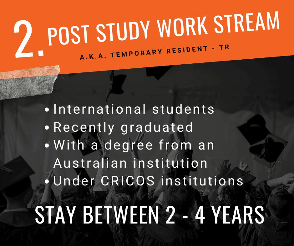 Post Study Work Stream