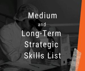Strategic Skill List